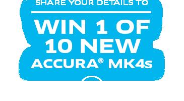 WIN 1 of 10 ACCURA MK4s